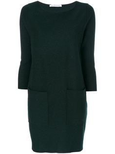 платье с накладными карманами Harris Wharf London