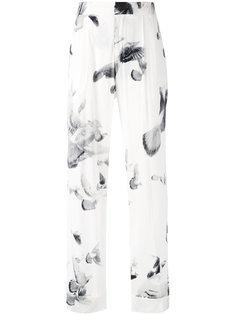широкие брюки с принтом A.F.Vandevorst