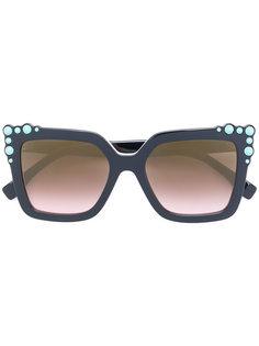 солнцезащитные очки в квадратной оправе Fendi Eyewear