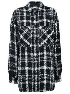 свободная куртка-рубашка в клетку  Faith Connexion