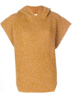 свитер-пончо с капюшоном See By Chloé