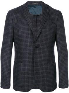 patch pockets checked blazer Corneliani
