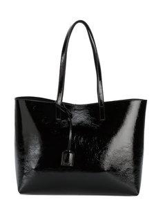 лакированная сумка-тоут Monogram Saint Laurent