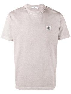 футболка с заплаткой с логотипом Compass Stone Island