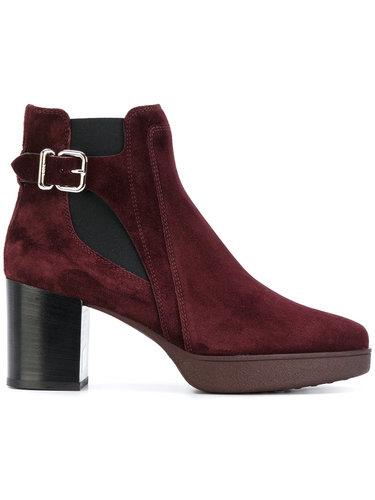 ботинки с пряжкой на щиколотке Tod's