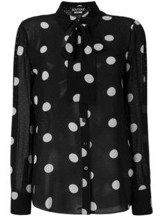 блузка в горох Boutique Moschino