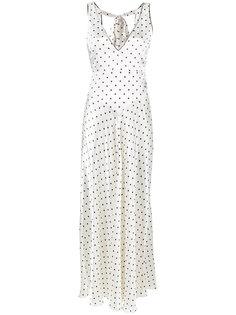 платье без застежки Leclair Ganni