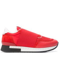 кроссовки с панелью Givenchy