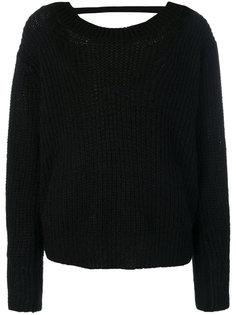 свитер в рубчик Nude