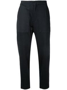 зауженные брюки из эластичной саржи Bassike