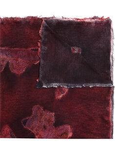 шарф с эффектом ржавчины Avant Toi