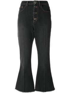 укороченные расклешенные джинсы Sonia Rykiel