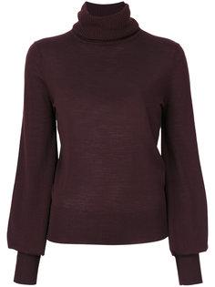 свитер с рукавами-колоколами Chloé