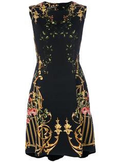 """мини-платье с принтом в стиле """"барокко"""" Alberta Ferretti"""