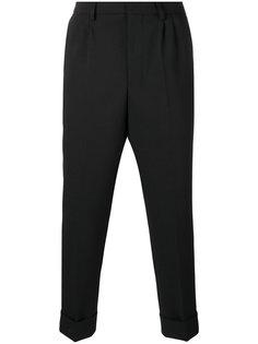 зауженные брюки со складками Ami Alexandre Mattiussi