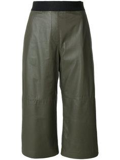 широкие укороченные брюки Neil Barrett