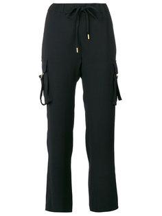 укороченные брюки с эластичным поясом Michael Kors