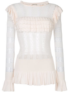 Cypre pointelle frill Ttp Temperley London
