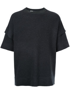 layered sleeves T-shirt  N. Hoolywood