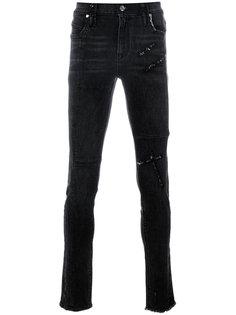 distressed slim fit jeans Rta