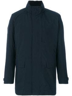 пальто с воротником-воронкой Z Zegna