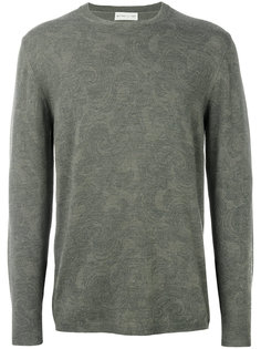 light floral embroidery sweatshirt Etro