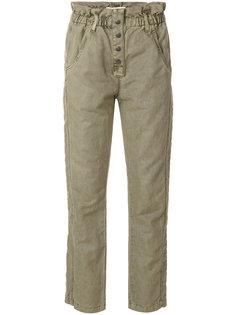 укороченные джинсы Paperbag  Current/Elliott