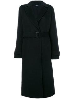 удлиненное пальто с поясом Joseph