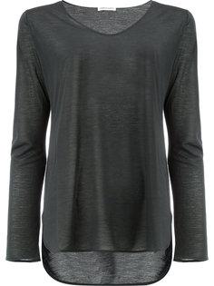 прозрачная футболка Lamberto Losani