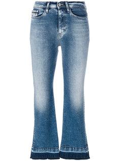укороченные расклешенные джинсы  Ck Jeans