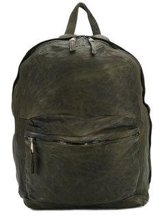 рюкзак с потертым эффектом  Giorgio Brato