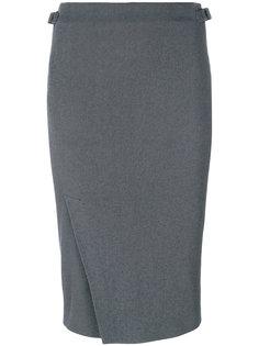юбка-карандаш с плиссировкой  Tom Ford