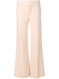 широкие брюки клеш  Chloé