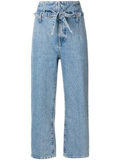 укороченные джинсы Corset  Current/Elliott