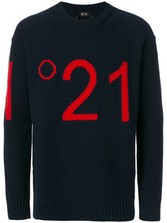 джемпер с логотипом Nº21