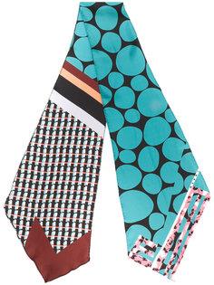 шарф со смешанным принтом Marni