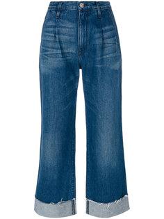 расклешенные джинсы с завышенной талией 3X1