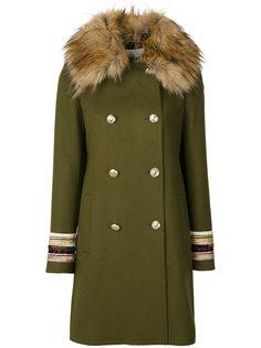 двубортное пальто Bazar Deluxe