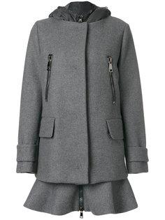 двухслойное пальто  Moncler