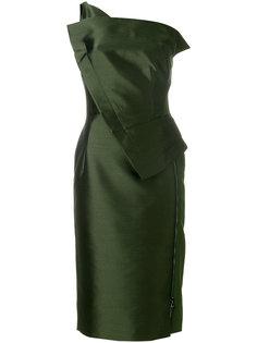 платье на одно плечо  Antonio Berardi
