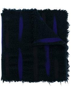 контрастный шарф с эффектом потертости Faliero Sarti