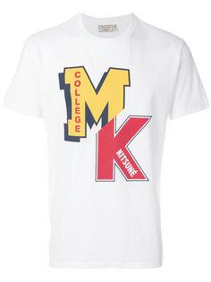 футболка с принтом-логотипом Maison Kitsuné