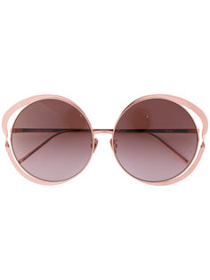 круглые солнцезащитные очки Linda Farrow Gallery
