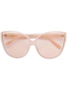 """солнцезащитные очки формы """"кошачий глаз"""" Linda Farrow Gallery"""