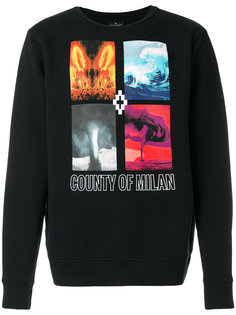 Diuca crewneck sweatshirt Marcelo Burlon County Of Milan