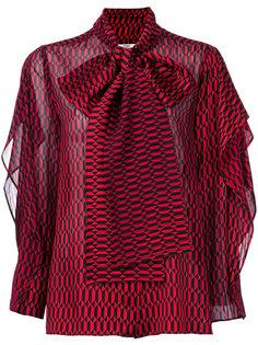 фактурная блузка Fendi