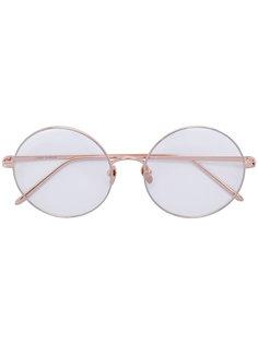 очки в оправе круглой формы Linda Farrow Gallery