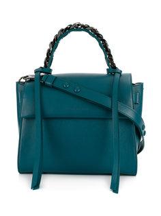 chain embellished handle tote Elena Ghisellini