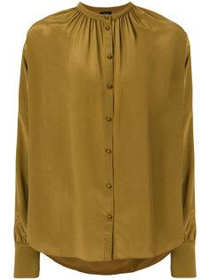 блузка с оборкой  Joseph