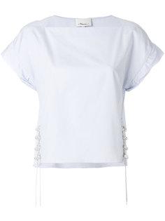 блузка с отделкой  3.1 Phillip Lim